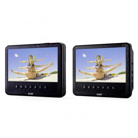 double dvd portable