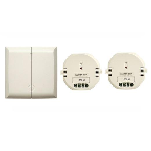 double interrupteur sans fil