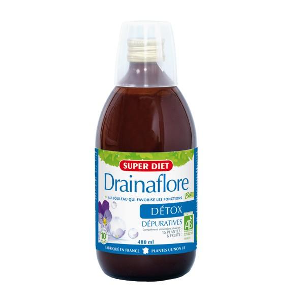 drainaflore bio boisson détox super diet