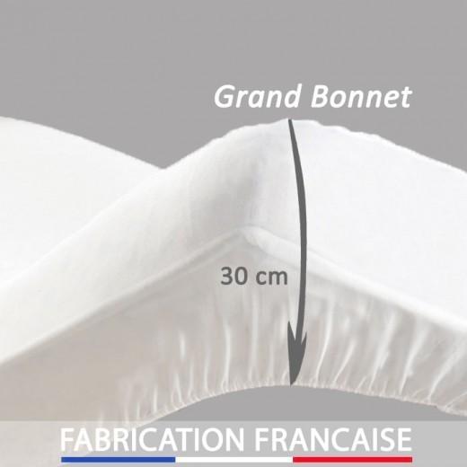 drap housse pour matelas épais 30 cm