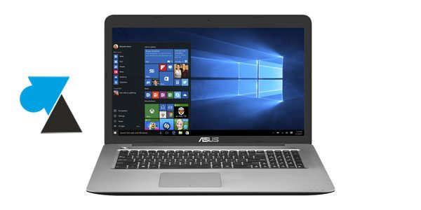 driver clavier asus windows 10