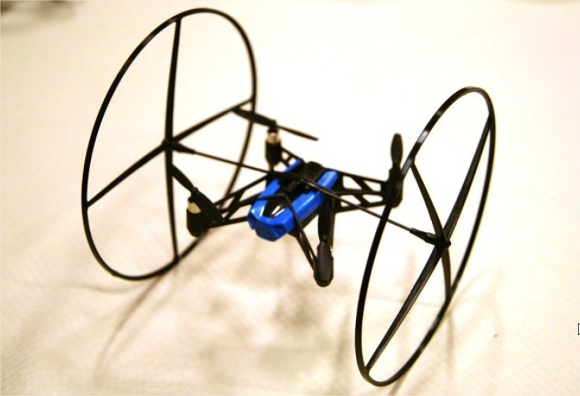 drone avec roue
