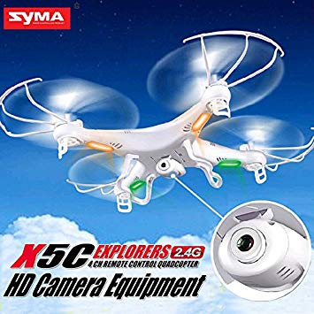 drône caméra hd rc radiocommandé syma x5c-1
