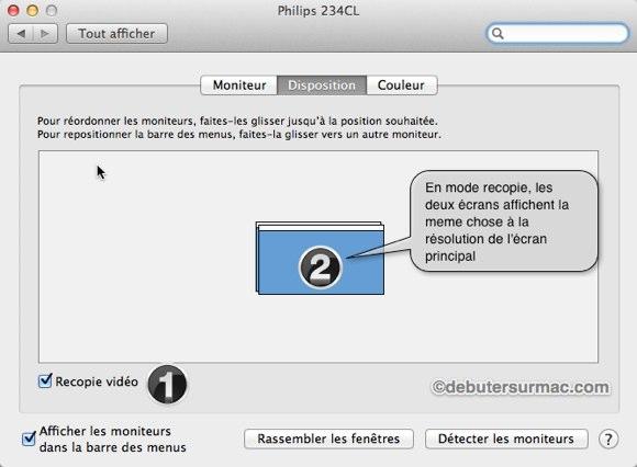 dupliquer ecran mac sur tv hdmi