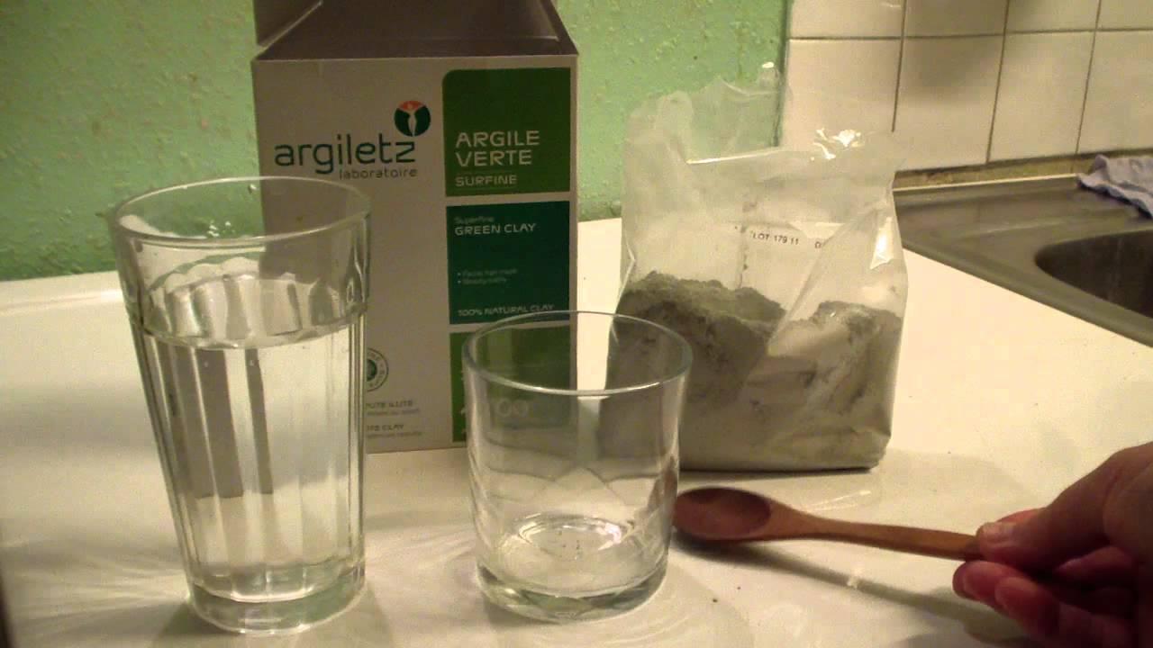 eau d argile verte