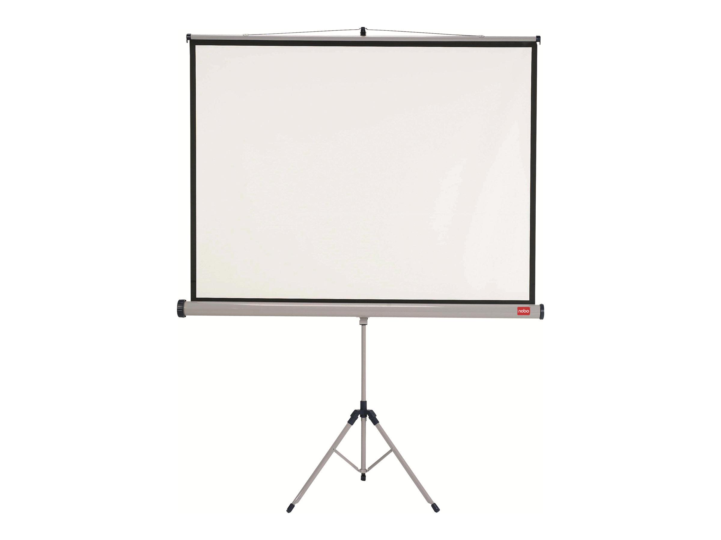écran de projection avec trépied
