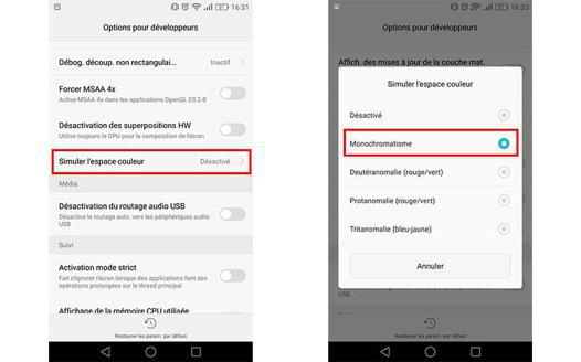 ecran noir youtube android